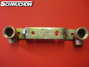 10-x-ghisa-rossa-unita-di-montaggio-rame-Rondella-parete-GEMINI-15-mm-x-1-2-034