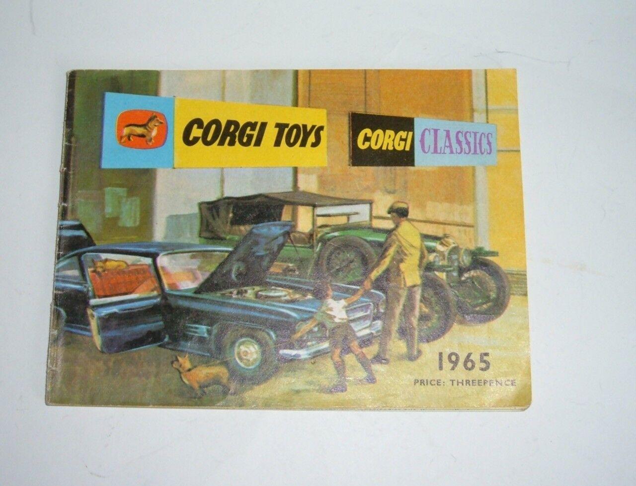 Corgi Corgi Corgi Toys 1966, fechada 1965, precio  tres peniques, - Excelente Perfecto 19929c