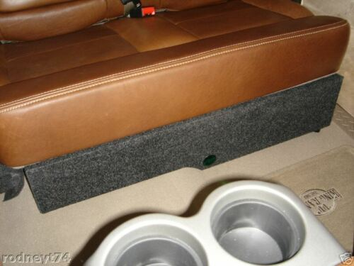 2004 to 2008 Ford F150 SuperCrew Supercab Box Enclosure 12 empty box Crewcab Ext