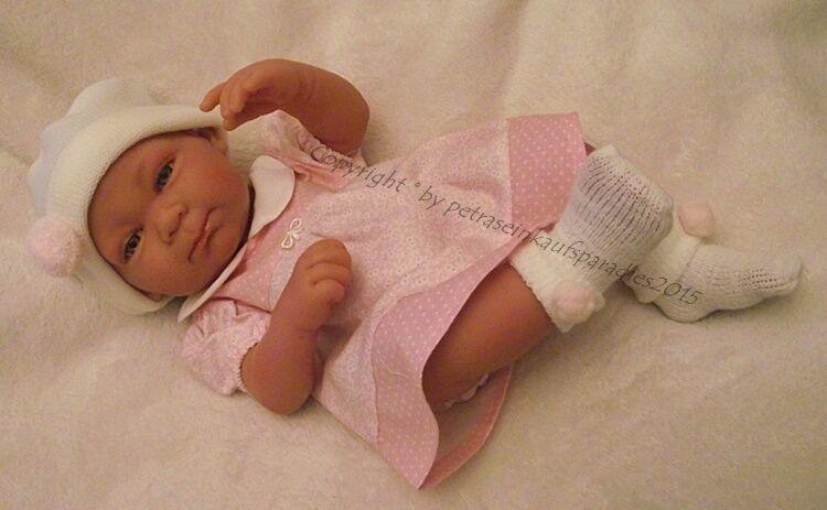 Antonio Juan Bambola gioco,  Olivia  Baby Bambola, Bambina, 42 cm con 5052 abbigliamento