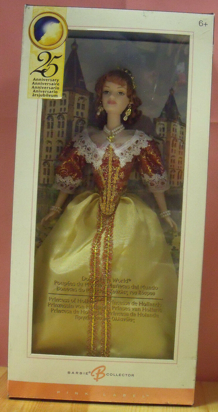 Barbie G8055 Principessa di Olanda Collector Edition Princess of Holland