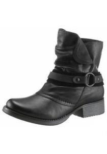 Schwarz Rieker Boots 39 Gr Stiefeletten OPlkiTwXZu