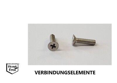 Doeltreffend Senkkopfschrauben Mit Kreuzschlitz Din 965 Edelstahl A2 Von M1 Bis M2,5