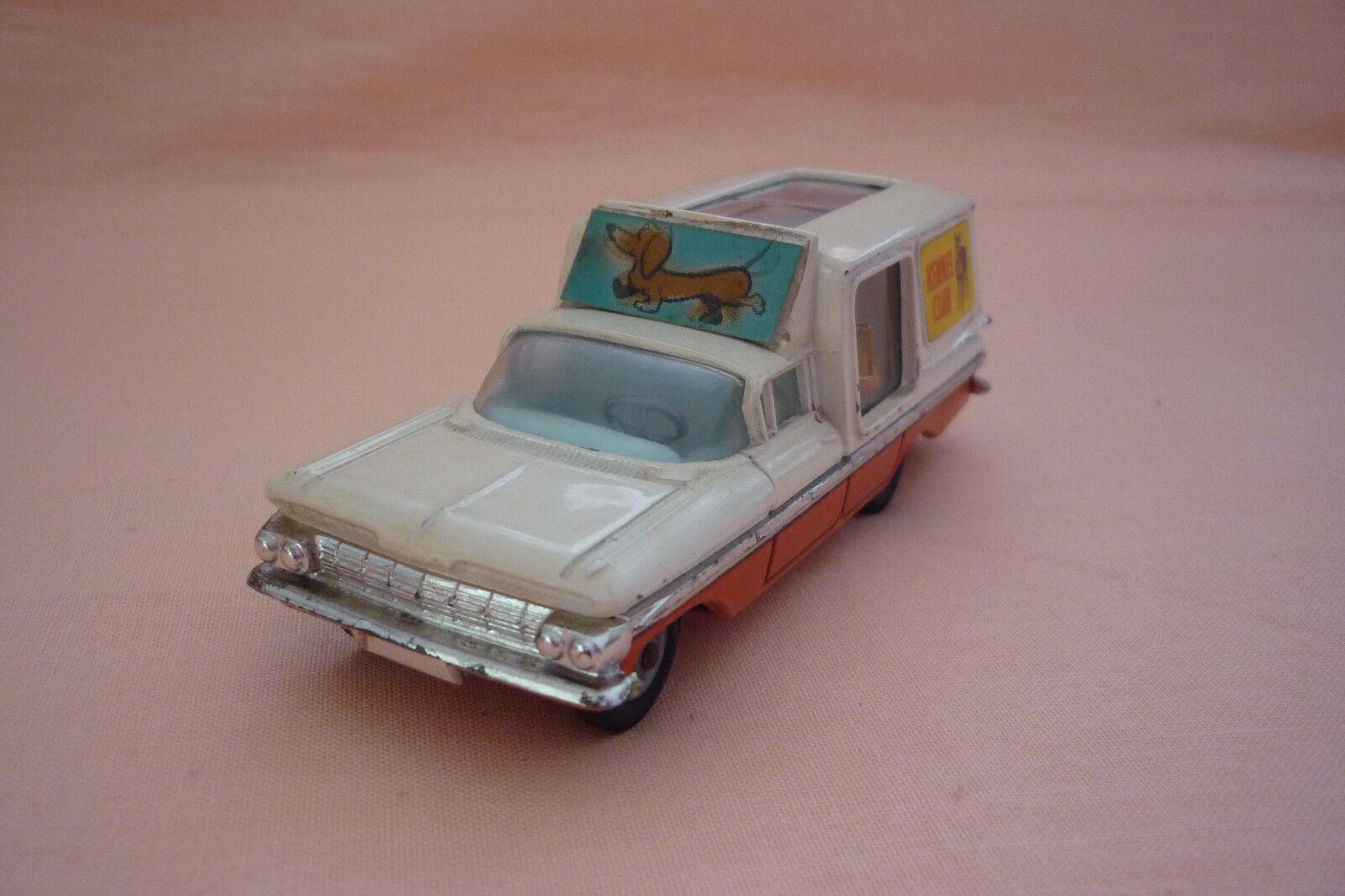 Corgi Toys-Vintage Metal Model-Chevrolet Impala-Kennel Club -