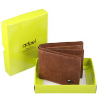 Leather Wallet : Made In Italy : Beautiful Vegetable Tanned Tuscan Leather