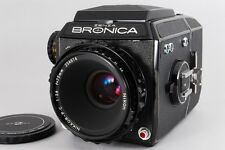 NEAR MINT Zenza Bronica EC  with Nikkor-P・C 75mm f/2.8  from japan #590