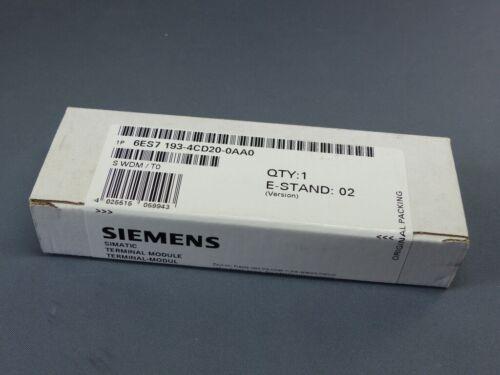 5356-1 SIEMENS SIMATIC S7 Terminal Modul 6ES7 193-4CD20-0AA0 E-Stand 2