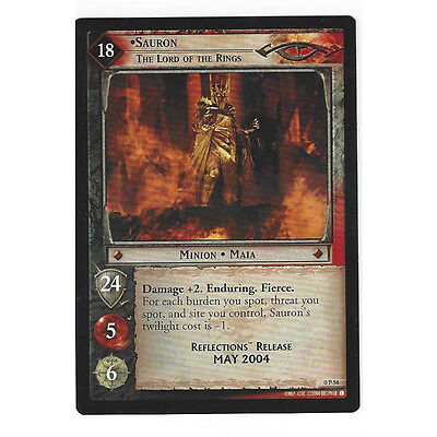 CCG 31 Lord of the Rings / Hobbit Promo 0P54 Sauron, The Lord of the Rings