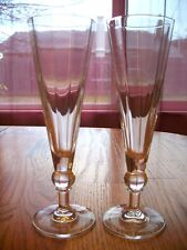 Flutes Clear Glass Contemporary Simple, Elegant    -- 318