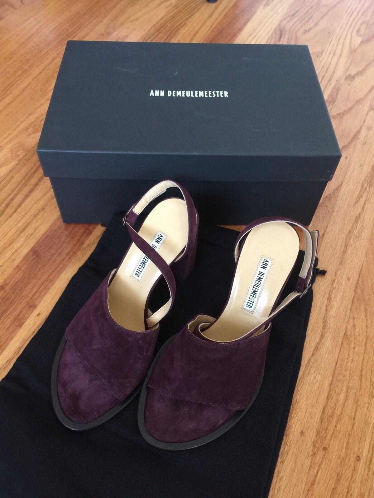 Ann Demeuulester  prugne pompa NEW 36  shopping online di moda