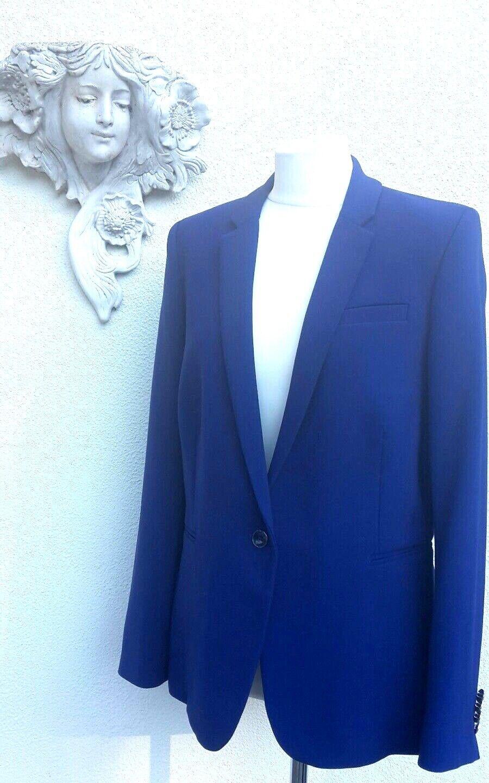 Bruno St Hilaire bluee blazer. Size 16. RRP