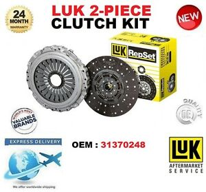 FOR VOLVO 31370248 CLUTCH KIT 2 PIECE EO QUALITY BRAND NEW BOXED