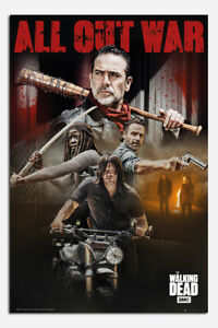 The-Walking-Dead-Season-8-Collage-Poster-New-Maxi-Size-36-x-24-Inch