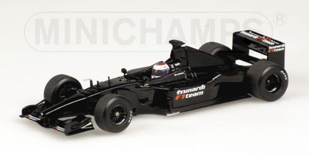 MINICHAMPS 400 030089, 030119, 030189, 030219 MINARDI F1 car J Verstrappen 1 43