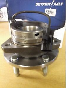 Details about NEW Detroit Axle K51324 Wheel Hub Assembly *FREE SHIPPING*