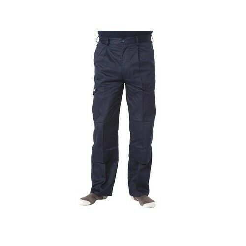 Apache APINDNAV Navy Industry Trousers Waist 40in Leg 31in
