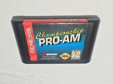 Championship Pro-Am (Sega Genesis) Game Cartridge Excellent!