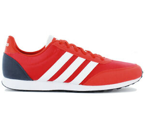 Adidas-V-Racer-2-0-Men-039-s-Casual-Shoes-Sneaker-Red-Trainers-DB0430-Adidas-New
