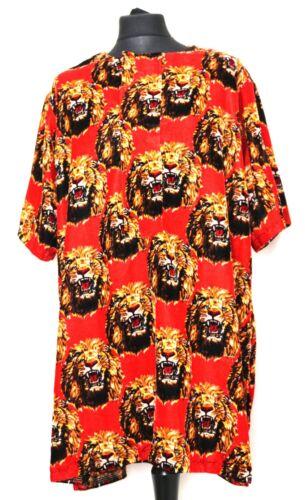 Ichie fatto a mano Igbo tradizionale Top ISI AGU autentici uomini dell/'Africa in velluto Rosso