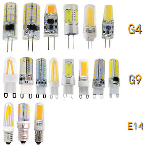 3W-9W-Dimmable-G4-G9-E14-Silicone-Crystal-LED-Corn-Bulb-Filament-COB-Light-Lamp
