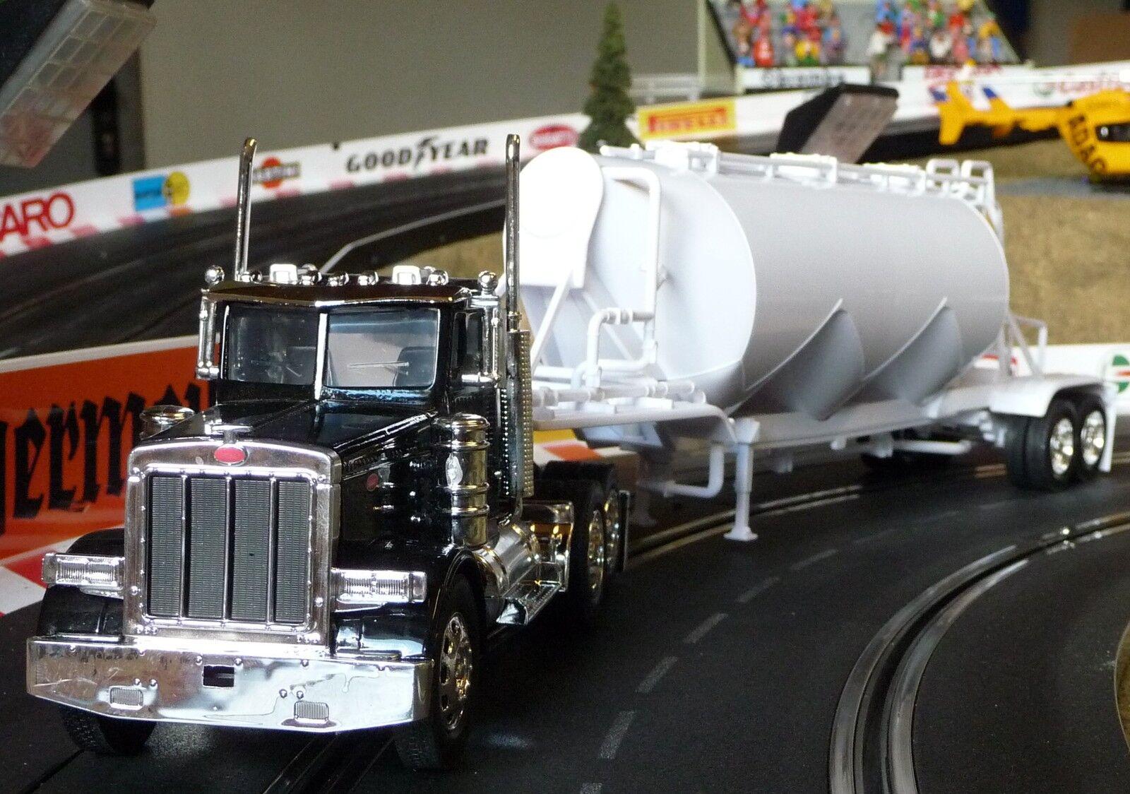 LKW Kenworth Peterbilt mit Anhänger in 1 32 Slotcar-DEKORATION für Carrera 10583  | Um Sowohl Die Qualität Der Zähigkeit Und Härte
