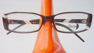 da Plastic Frame Marrone donna Narrow vista S Bianco Taglia leggeri Decor Occhiali da jLqSUVpGzM