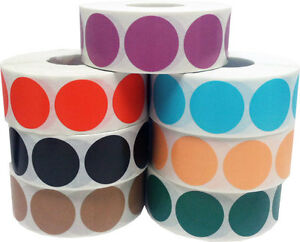 Circle-Dot-Stickers-1-Inch-Round-500-Labels-on-a-Roll-55-Color-Choices