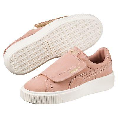 PUMA Basket Suede Platform Big Strap pour femme Femmes Chaussures Neuf | eBay