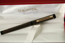 Sheaffer Targa Regency  fountain pen 675 Brass Laquer -  near mint condition