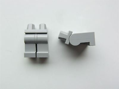 4227657 Ordentlich 2 X Lego Grey Minifigure Lower Body Legs parts & Pieces
