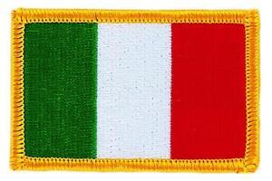 Patch-ecusson-brode-Drapeau-ITALIE-italien-italia-FLAG-Thermocollant-Blason