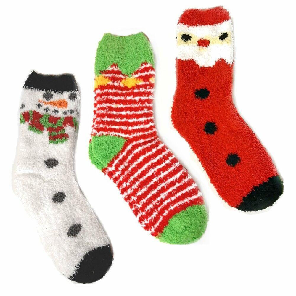 Section SpéCiale Femmes Taille Uk 4-8 Moelleux Confortable Noël Nouveauté Chaussettes-stocking Filler Cadeau Produits Vente Chaude