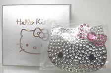 HELLO KITTY SEPHORA Limited Edition Jeweled Rhinestone Compact Mirror New In Box