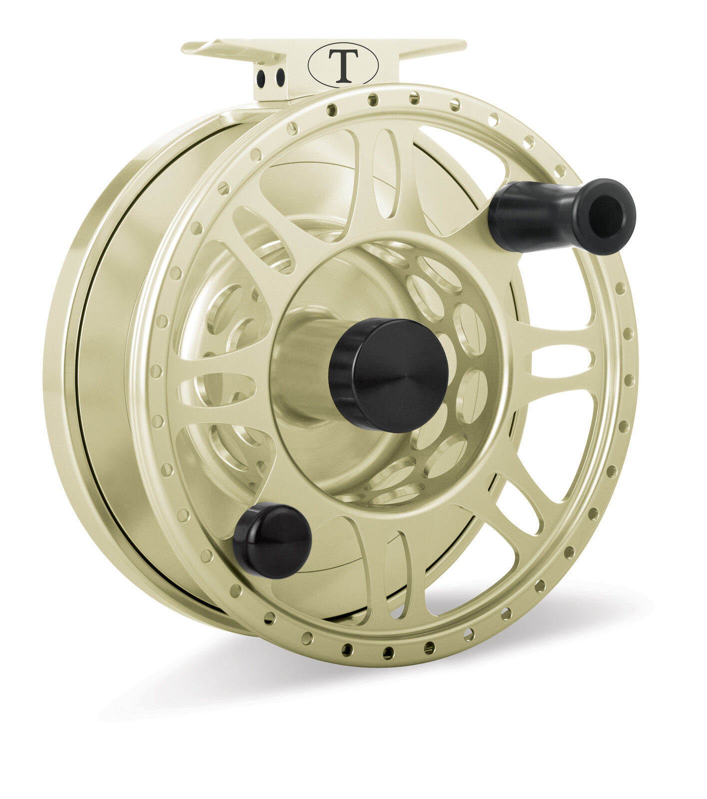 Tibor Everglades Fly Reel, oro, NEW   FREE FLY LINE