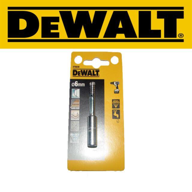 DeWALT DT6038 6MM Extreme Diamond Tile Drill Bit Porcelain, Ceramic, Granite
