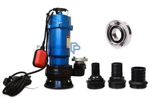 ➠ Pompe immergée pour 1,5 kW ➠ Pompe à eaux usées ➠ excréments Pompe ➠ Flotteur 30000 l/h  </span>