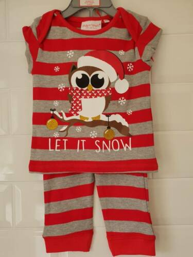 Baby Girl or Baby Boy Christmas Pyjamas Nightwear Sleepwear