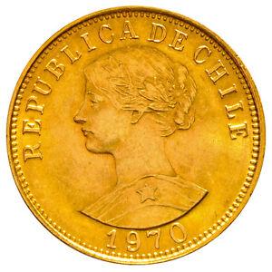 50 Pesos Gold Chile - Verschiedene Jahrgänge - Goldmünze 900/1.000
