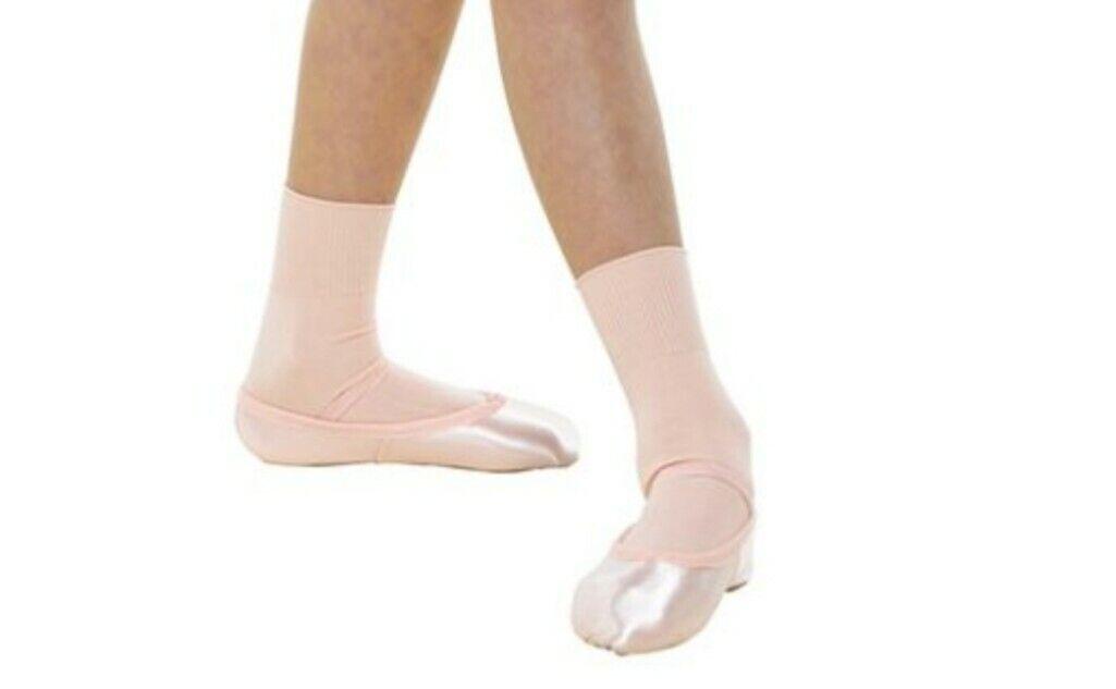 Pink Ballet Socks Size 6 - 8.5 child Uk