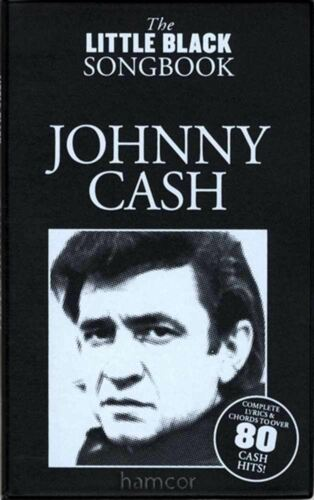 Johnny Cash The Little Black Songbook Guitar Chords /& Lyrics Music Song Book