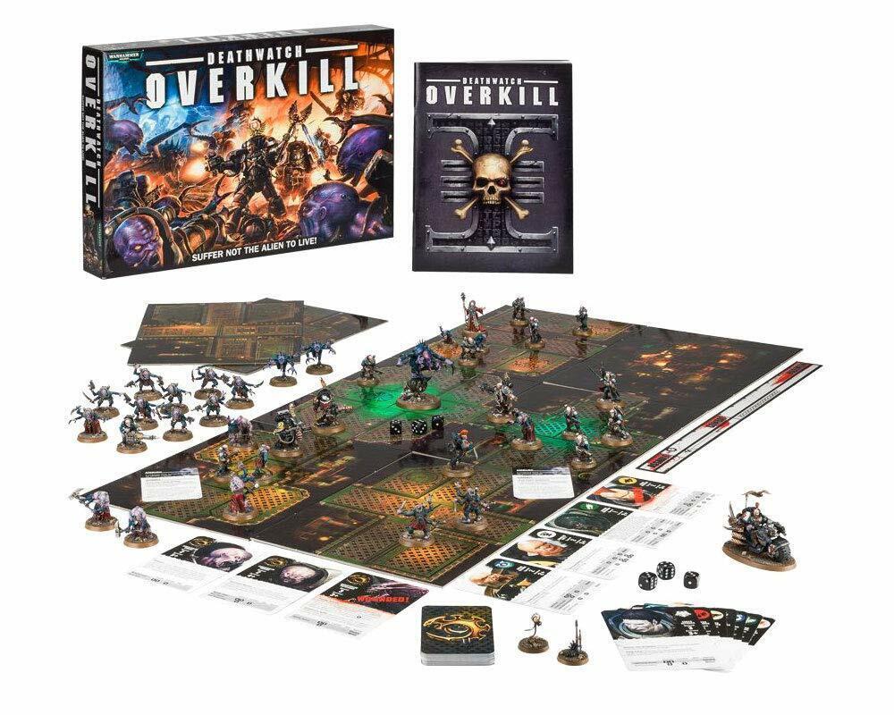 Deathwatch Overkill  Warhammer 40000   Gioco Sigillato Nuovo giocos lavoronegozio