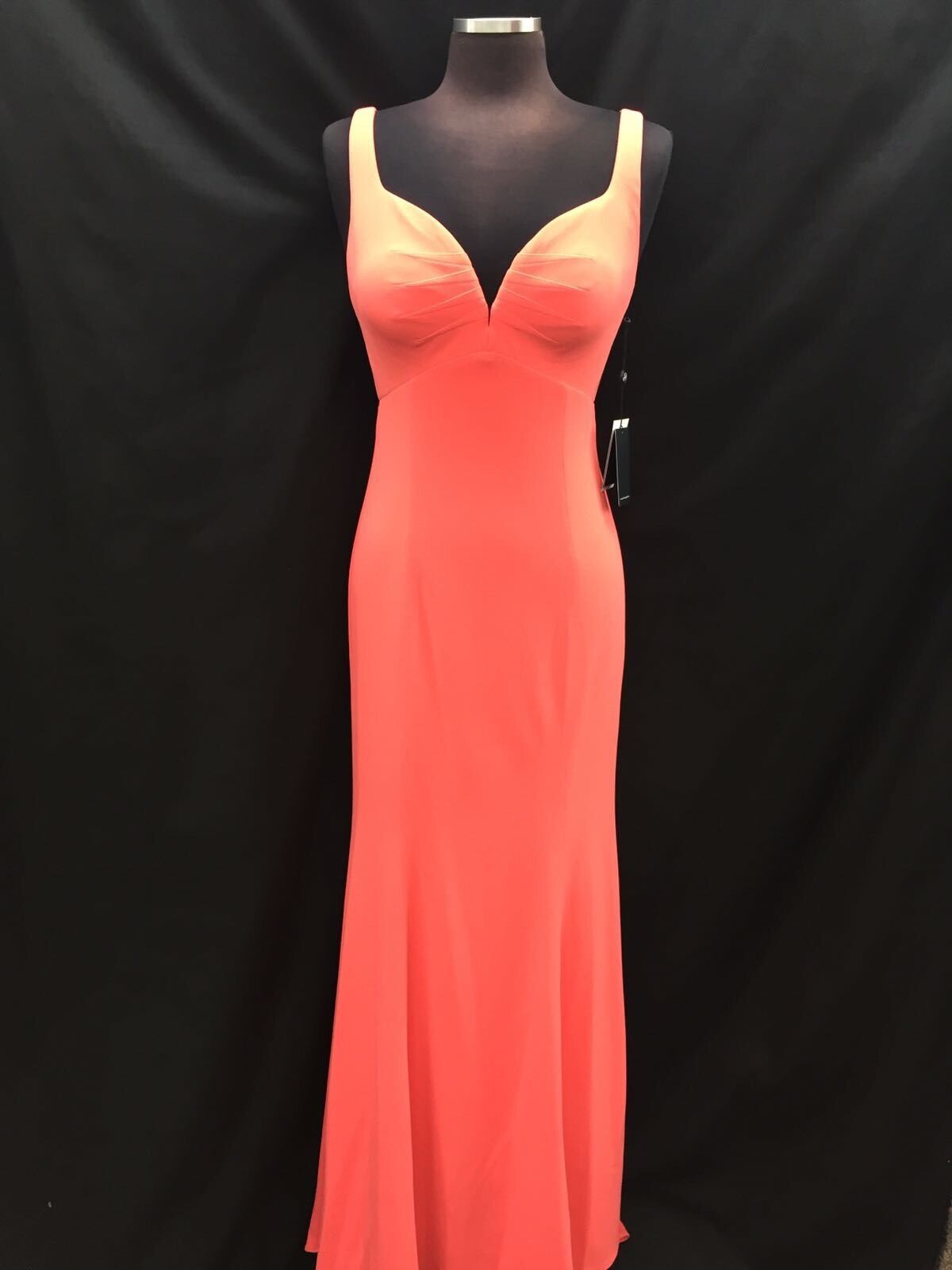 ADRIANNA PAPELL DRESS  NEW WITH TAG SIZE 10 RETAIL  LONG GOWN DESERT FLOWER
