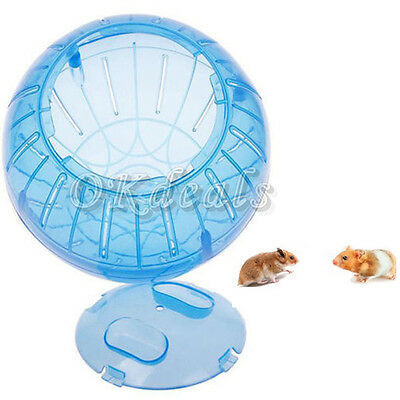 Pet Rodent Mice Jogging Hamster Gerbil Rat Play Plastic Exercise Ball Good Toy