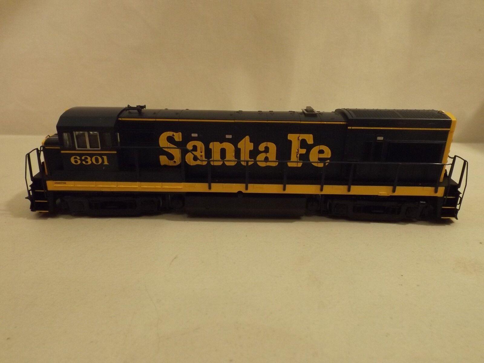 HO Atlas Santa Fe GE U23B diesel engine, in original scatola   6301