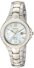 Seiko Women's 'COUTURA' Quartz Stainless Steel Casual Watch SUT240
