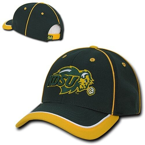 North Dakota Baseball St State NDSU Bison Jersey Mesh NCAA Baseball Dakota Snapback Cap Hat 7ac14b