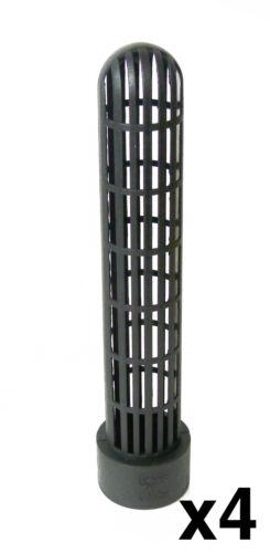 """4 X FILTRO LAGHETTO perforata inserisci-raccordo del tubo Blocco di schiuma 1.5/"""" di Solvente Saldatura"""