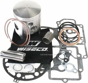Wiseco PK1257 54.00 mm 2-Stroke Motorcycle Piston Kit with Top-End Gasket Kit