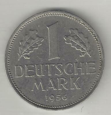 1950 D /& 1956 D  Germany 1 Mark XFAU  KM#110  Lot# 279