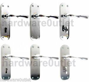 Image Is Loading Door Handles ROSA Premier Round Ends Brushed Amp